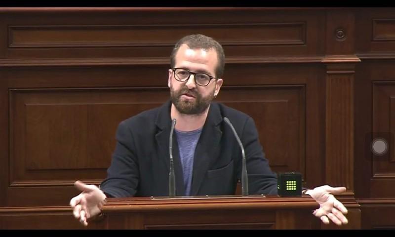 Juan Márquez, portavoz de la Comisión de Sanidad del Grupo Parlamentario Podemos