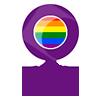 Icono Secretaría de Igualdad, Feminismos y LGTBI
