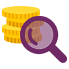 Icono Secretaría General, Finanzas y transparencia