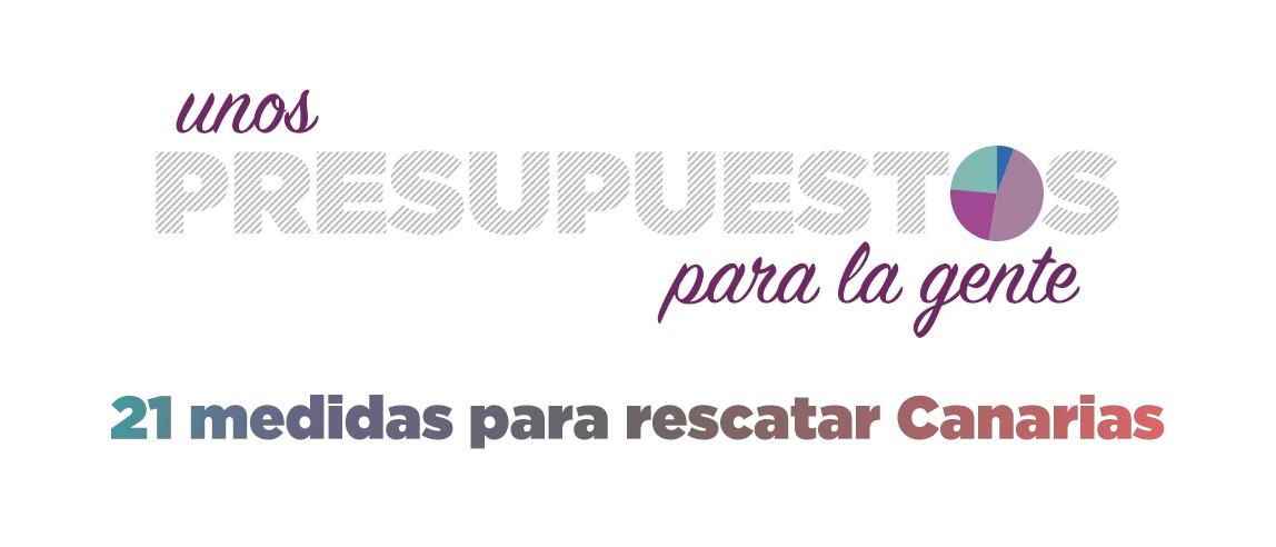 Ver las 21 medidas que proponemos para rescatar Canarias
