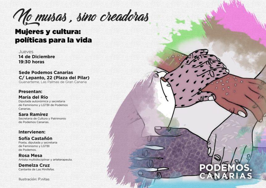 Podemos Canarias Te Invita Al Acto Multidisciplinar Mujeres