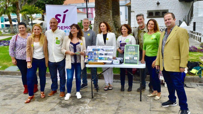 """Sí Podemos, la """"única llave"""" para las """"políticas sostenibles"""" en Canarias"""