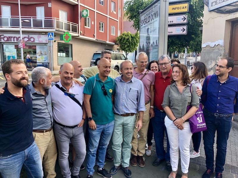 """Paco Déniz: """"CC no ha atajado los problemas de la gente ni con el PSOE ni con el PP"""""""