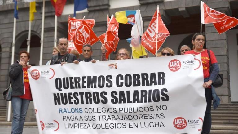 """Marrero pide al Gobierno que """"acabe con la infamia"""" de contratar a empresas que """"no pagan a sus trabajadores"""""""